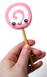 Wooden Lollipop by kickass-peanut