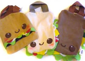 Yummy Tote bags by kickass-peanut