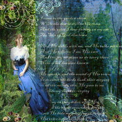 Come  To The Garden Collage by designdiva3