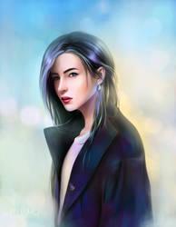 Dark coat by KeiLumo