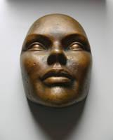 Bronze Mask 04... by the-night-bird