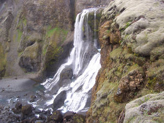 Waterfall by gudruna