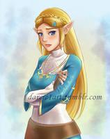 Sad Botw Zelda by Darcie1