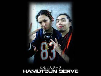 Hamutsun Serve Wallpaper by Mangekyou-Eyes
