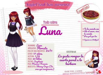 Todo Sobre: Luna Floresta by AngieUtauChan