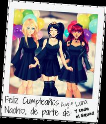 KillerSquad: Happy Birthday Naoh! by AngieUtauChan