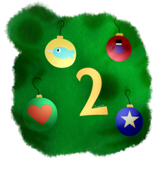 (Advent Calendar) Day 2: Tree Balls by AngieUtauChan