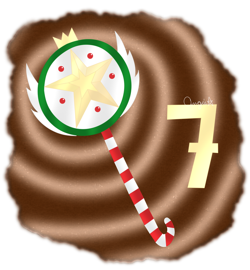 (Advent Calendar) Day 7: Candy Cane by AngieUtauChan