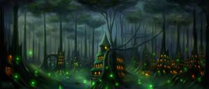 Elf-city by Maks08