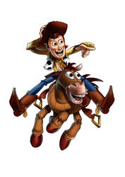 Woody and Bullseye by Pastichio