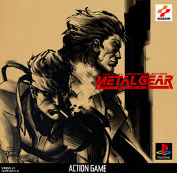 Metal Gear Solid Redo BoxArt by Pastichio