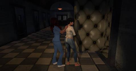 down in the basement by Zoe-Shelin