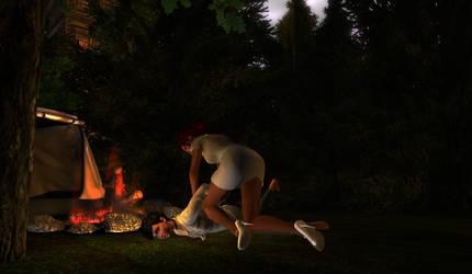 Campfire by Zoe-Shelin