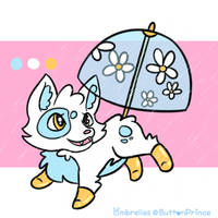 Ombrelle Adopt   Water Baby [Closed] by ButtonPrince
