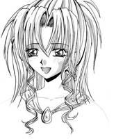 Manga Girl by crystalkitty