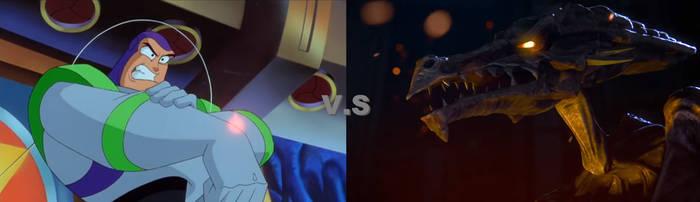 Buzz Lightyear vs Ridley by AmazingNascar221