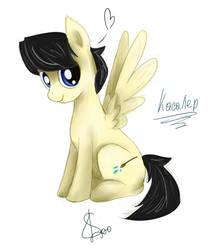 OC Pony by RomaGoncharovskaya