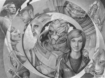 Mass Effect by Lei-Ren