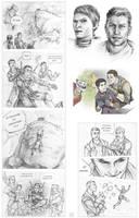 DAI Sketches by Lei-Ren