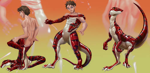 Balance - Raptor Suit TF by Trunch (w/ Story) by DraythixTransryu