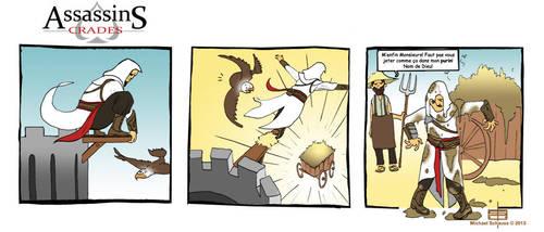 AssassinS Crades strip 1 by MichaelSchauss