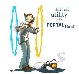 Portal Gun by MichaelSchauss