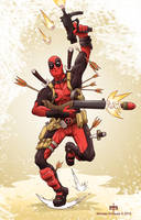 Deadpool Ever! by MichaelSchauss