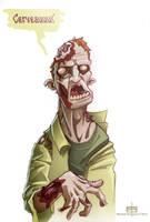 Zombie Cerveau by MichaelSchauss