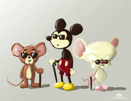 Three blind Mice by MichaelSchauss