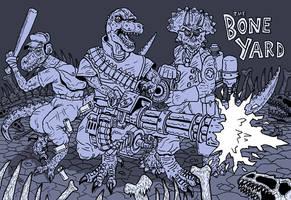 The Bone Yard Dinosaur TF2 by GerrySwanson
