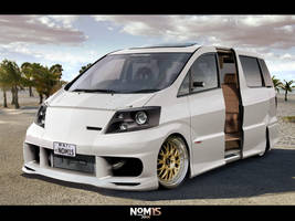 The Surfer's Alphard by NOM15