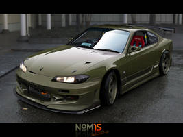 Nissan Silvia S15 by NOM15