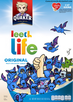 Commission: Leech Life Cereal by GAmesterAxela
