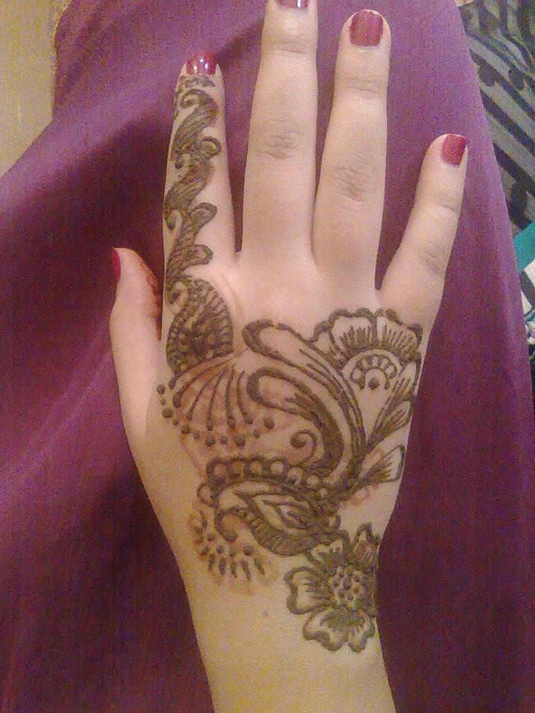 Henna Hand Art By A W0man On Deviantart