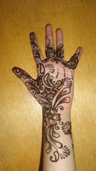 Spring Blossoms  Henna by A-w0man