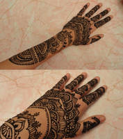 Taj Mahal Henna by A-w0man