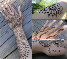 Henna Here, There, Everywhere! by A-w0man