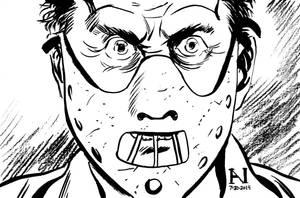 Hannibal Lecter by IanJMiller