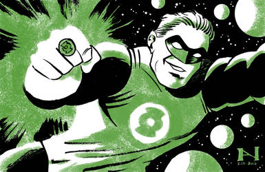 New Frontier Green Lantern by IanJMiller