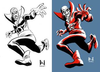 Deadman, Then vs. Now by IanJMiller