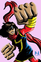Ms. Marvel by IanJMiller