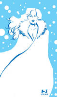Lumi the Snow Queen by IanJMiller