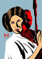 Princess Leia by IanJMiller