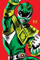 Green Ranger by IanJMiller