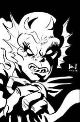 Etrigan the Demon by IanJMiller