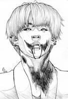 Inktober Vampire JK by Paijie