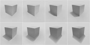 Cube Shadow Study by BunnyVoid