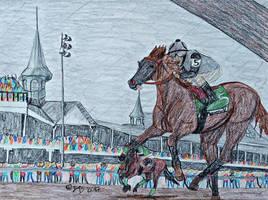 Think I Can Do It? || Kentucky Oaks Entry| 2nd by ObsidianFarm