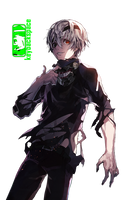 Kaneki Chain (Tokyo Ghoul) - Render v2 by azizkeybackspace