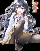 Aki Adagaki (Masamune-kun no Revenge) - Render by azizkeybackspace